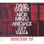 Hey Mama / David Guetta Feat. Nicki Minaj & Afrojack【CD Single】(X)(デヴィッド・ゲッタ)
