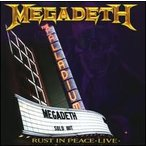 Megadeth / Rust In Peace Live (輸入盤CD) (メガデス)