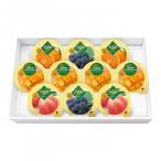 代引不可 金澤兼六製菓 詰め合せ マンゴープリン&フルーツゼリーギフト 10個入×12セット MF-10