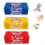 代引不可 キャンディブロックケースM 60g(15g×4袋) 12セット 100001963 ラムネ菓子 大量 かわいい