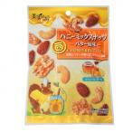 代引不可 福楽得 美実PLUS ハニーミックスナッツ バター風味 35g×20袋