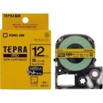 (業務用50セット) キングジム テプラ PROテープ/ラベルライター用テープ 〔マット/幅:12mm〕 SB12Y イエロー(黄)