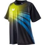 Butterfly(バタフライ) 卓球Tシャツ FRIPLE T-SHIRT フリプル・Tシャツ 男女兼用 ライム×スカイ O
