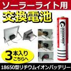 電池交換式 ソーラー投光器 充電式投光器 対応