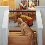 ペットフェンス Delaman 犬 猫用 ベビーゲート 室内 侵入防止 隔離ネット 屋内安全ゲート 簡単組立 折りたたみ 収納便利 110*72cm
