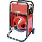 【代引不可】 ヤスダ 排水管掃除機FX4型電動12mm×12m 【FX41212】