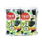 ヘピョ味付けのり/弁当用10個x8枚/ 韓国のり/ 韓国海