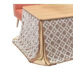 ダイニングこたつ布団 90×90cm 正方形用 こたつ布団 ハイタイプ 送料無料