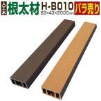 ウッドデッキ 人工木材 樹脂 大引き 根太材 H-B010 85×45×2000mm