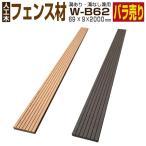 ウッドデッキ W-B62 【69×9×2000mm】人工木材 樹脂 フェンス材 グッドライフウッド