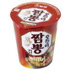 *韓国食品*濃心 いかちゃんぽん カップ麺(小)67(韓国ラーメン)(m5619)