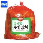 *韓国食品*【クール便・冷蔵】韓国本場の味!ジョンガ 白菜キムチ 5kg【お1人様2個まで】★goodmall★