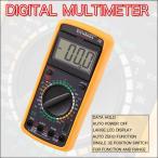 デジタルマルチメーター(電流・電圧・抵抗値・静電容量の測定に!見やすい大型液晶のテスター)