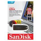 サンディスクUltra・高速32GB【USBメモリSDCZ48-032G-U46】R=100MB/s・USB3.0&2.0対応