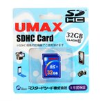 5年保証UMAX【SDHCカードUM-SDHC-C10-32G】Class10