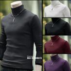 ニット セーター メンズ 無地 カジュアル メンズニット セーター メンズセーター タートルネック メンズ ニット カットソー 長袖 ニット ニットセーター
