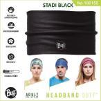 【メール便 送料無料】HEADBAND BUFF No.100156_STADI BLACK【バフ/ネックウォーマー/バンダナ】