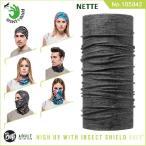【メール便 送料無料】【虫除け】High UV Protection Buff Insect Shield No.105842_NETTE【バフ/ネックウォーマー/バンダナ】