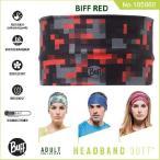 【メール便 送料無料】HEADBAND BUFF No.105866_BIFF RED【バフ/ネックウォーマー/バンダナ】