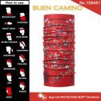 【メール便 送料無料】High UV Protection Buff No.108481_BUEN CAMINO【バフ/ネックウォーマー/バンダナ】