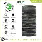 【メール便 送料無料】【虫除け】High UV Protection Buff Insect Shield No.108600_LIZARD【バフ/ネックウォーマー/バンダナ】