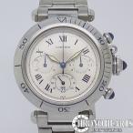 カルティエ パシャ38mm クロノグラフQZ【中古】【腕時計】【送料無料】