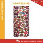【メール便 送料無料】(junior&lady's size)High UV Protection Buff No.811203 MARTIANS【バフ/ネックウォーマー/バンダナ】