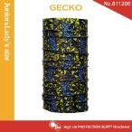 【メール便 送料無料】(junior&lady's size)High UV Protection Buff No.811206 GECKO【バフ/ネックウォーマー/バンダナ】