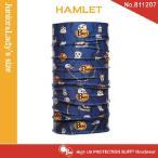 【メール便 送料無料】(junior&lady's size)High UV Protection Buff No.811207 HAMLET【バフ/ネックウォーマー/バンダナ】