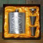 ジャックダニエル スキットル Jack Daniel's ウイスキーボトル 7oz アメリカン雑貨