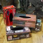 アメリカン ティッシュケース レトロ ティッシュカバー ティッシュボックス