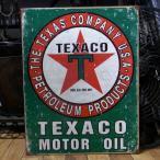 TEXACO ブリキ看板 テキサコオイル アメリカン雑貨 インテリア