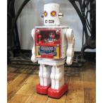 ブリキのおもちゃ ブリキの電動ロボット コックピットロボット