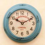 アンティーククロック 壁掛け時計 レトロ KENSINGTON STATION ウォールクロック