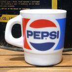 ミルキーガラス スタッキングマグカップ ペプシコーラ アメリカ雑貨
