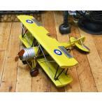 ブリキのおもちゃ 飛行機 複葉機