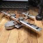 ブリキのおもちゃ 水上飛行機