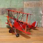 複葉機 インテリア 飛行機 biplane ブリキのおもちゃ
