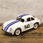 レーシングカー ホワイト540 インテリア ブリキのおもちゃ 自動車