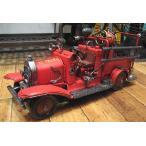 ブリキのおもちゃ 消防車 自動車