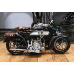 ブリキのおもちゃ バイク サイドカー BSA
