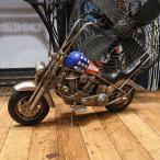 ブリキのおもちゃ チョッパーバイク イージーライダー オートバイ