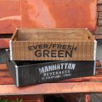 マーキュリー リサイクルウッドクレート アメリカンインテリア 収納ボックス 木箱 アメリカン雑貨