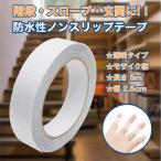 滑り止め テープ 2.5cm × 5m クリア カラー 透明 タイプ ノンスリップ 屋内 階段 すべり止め シール すべりどめ 転倒防止 グッズ 防災 薄 型
