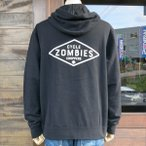 CYCLE ZOMBIES サイクルゾンビーズ  MHPS-019『 D.I.Y 』PULLOVER HOOD フード パーカ BLACK