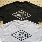 CYCLE ZOMBIES サイクルゾンビーズ MTSS-014 『 DIY 』 S/S T-SHIRT Tシャツ 半袖 2color BLACK/WHITE