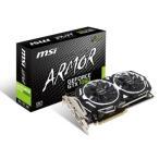 MSI GeForce GTX 1060 ARMOR 6G OCV1 GTX1060グラフィックカード MSIオリジナルクーラー「ARMOR 2X」を搭載