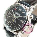 Aeromatic 1912(エアロマティック 1912) A1032 自動巻き ポインターデイト サン&ムーン ブラック ドイツクラシック メンズウォッチ 腕時計