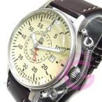 Aeromatic 1912(エアロマティック 1912) A1382 自動巻き レトロパイロット リューズガード GMT ドイツミリタリー メンズウォッチ 腕時計