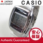 CASIO DATA BANK (カシオ データバンク) DB-E30D-1/DBE30D-1 タフソーラー搭載 テレメモ メタルベルト メンズウォッチ チープカシオ 腕時計 【あすつく】